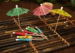 100% Bamboo Decorative Mini Toothpick Skewers For Cocktail / Kabob / BBQ