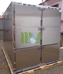Quality six dodies mortuary freezer cadaver freezer for six bodies & refrigerator with CE mark for sale