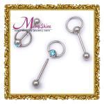 円のバーベルの女性に眉毛ボディ穿孔の宝石類の臍リングBJ68を作って下さい