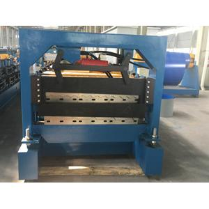 China Double Layer Roofing Sheet Roll Forming Machine , Aluminium Cold Roll Forming Machine on sale