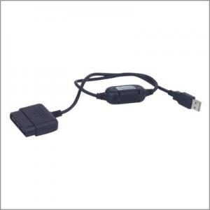 China Vibration Feedback P2 Game Controller To PC USB Converter supplier
