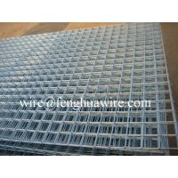 Hot-dip Zinc Plating Welded Wire Mesh Panels pass Iso9001:2000 certification