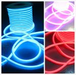 110 volt Waterproof slim led neon lights flex 360 rgb led neon flexible light factory price