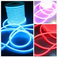 China 110 volt Waterproof slim led neon lights flex 360 rgb led neon flexible light factory price on sale