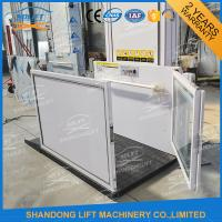 China Outdoor Hydraulic Vertical Wheelchair Platform Handicap Lift Equipment For The Disabled on sale