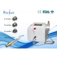 Fractional RF microneedle scar treatment Machine  needle depth 0~3 mm adjustable