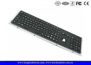 Quality IP65 Black Dust Proof Keyboard Industrial With Function Keys Number Keypad for sale