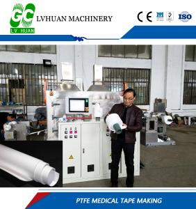 China PTFE Electric Cable Manufacturing Machinery Large Extrusion Capacity Fast Line Speed on sale