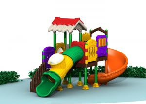 China Durable Kids Outdoor Play Gym Sets , Childrens Plastic Playground Equipment on sale