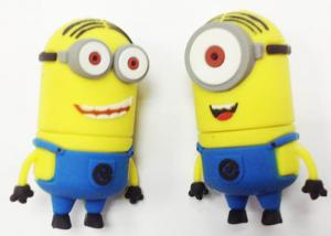 China Cartoon USB Flash Drive 8gb Cute Minion , Computer USB Flash Memory Sticks on sale