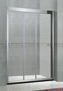 China Two Sliding Corner Shower Kits Framed Shower Enclosure With Waterproof Delicate Handle on sale