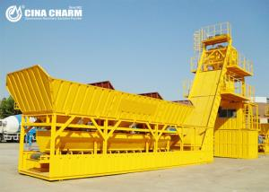 China Hopper Lifting Stabilized Soil Mixing Plant , MYHZS50 Free Base Weigh Batching Plant on sale