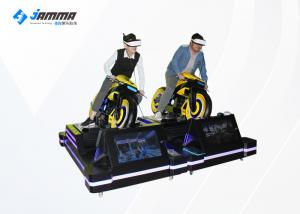 China Card Payment VR Motorcycle Simulator With 4 Multiplayer Games / VR Moto Game Machinie on sale