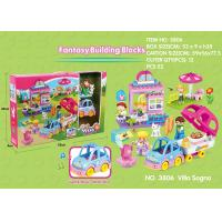 China Fire Station Building Blocks Educational Toys W / Functions For Age 3 Years Kids 49Pcs on sale