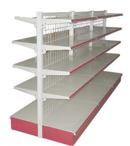 China Gondola Shelving Accessories---chrome Wire Fencing & Dividers on sale