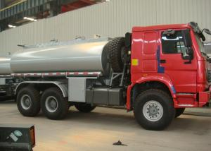 China 6×6 Full Drive Howo Chemical Tanker Truck For Hydrochloric Acid Transport on sale