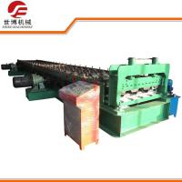 High Speed Floor Tiles Making Machine For 0.8mm - 1.2mm Thickness Steel
