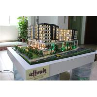 China Miniature scale model with light and model trees , 3d architectural model on sale