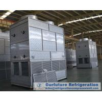 Downstreaming Type Evaporative Condenser For Cold Storage Refrigeration System