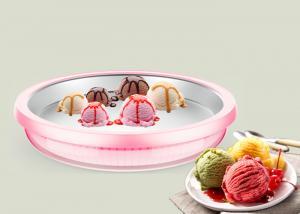 China Power Free Frozen Fruit Ice Cream Maker , Delicious Fresh Portable Ice Cream Maker on sale