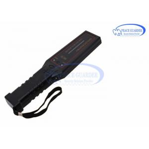China LED Alarm Indication Portable Metal Detector For  Reducing Crime Rate on sale