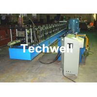 Touch Screen PLC Control Rack Upright Roll Forming Machine For Hydraulic Station Power 5.5kw With Thickness 1.5-2.5mm