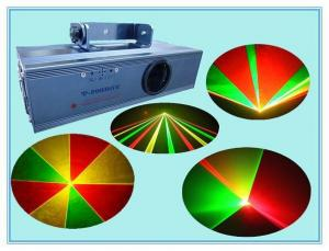 China Colorful RGY Mini Laser Stage Lighting For Stage Show / Concert Laser Show on sale