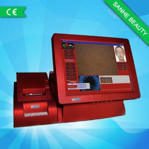 China 15 Inch Touch Screen Skin Analyzer Machine For Pore / Acne / Sensitivity on sale