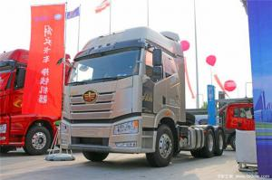 China 6*4 FAW Honor J6P 335HP-375HP Tractor Trailer Truck Manual Transmission Type on sale