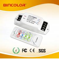 DC12V-24V  3 channels Constant Voltage RGB LED strip controller with RF remote control