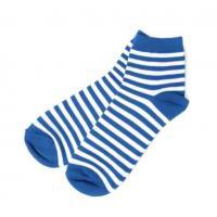 custom stripe mens low cut ankle crew socks