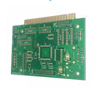 Multilayer Printed Circuit Board HDI Pcb With Gold Finger , Rigid PCB