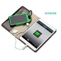 Black/blue/yellow Solar Charger 5000mAh Panel Charger for ipad/iPhone 6 Plus