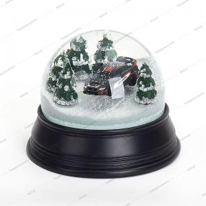 China High End Car Mode Dia120mm Promotional Snow Globe on sale