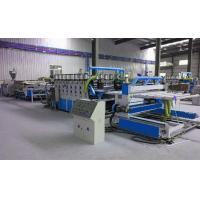 Fully Automatic Plastic Sheet Making Machine / PVC Foam Plate Making Machine