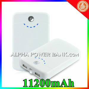 China Universal 11200mAh Portable Battery, Power Bank for Iphone on sale