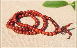 China rosewood Bracelet wooden beaded bracelet 8mm *108 beads necklace on sale
