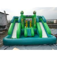 CE Certificates Inflatable Water Slide PVC Tarpaulin Material For Outdoor Games