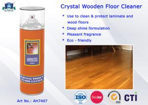 China Household Cleaning Product Crystal Wooden Floor Cleaner Spray with Multi-fragrance on sale