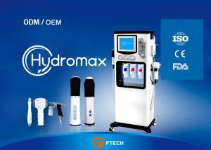 China 5 Handles 5 In 1 Oxygen Skin Care Machine , Anti Aging Aqua Facial Machine on sale