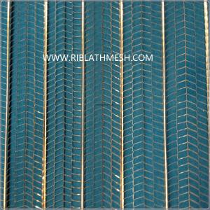 China Flat Expanded Rib Lath Mesh Concrete Reinforcing Peoduct For Plaster Wall on sale