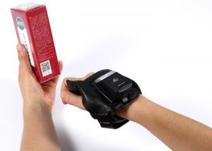 China Wireless Barcode Scanner 1D 2D QR Wearable Glove Bar Code Scanner on sale