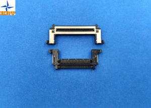 China One Row 0.5mm Pitch Lvds Display Connector Type With Stainessless Shell on sale