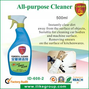 China Method Safe All Purpose Household Cleaner For Cleaning Car Bodies And Machine supplier