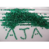 1.5mm Round Green Agate Loose Precious Gemstones Natural For Jewelry Settings