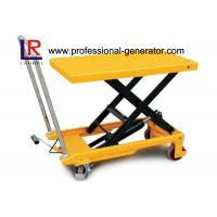 China High Capacity Warehouse Material Handling Equipment Electric Hydraulic Scissor Lift Table on sale