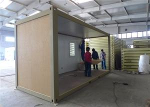 China Demountable Prefab Container House With EPS Sandwich Panel Wall on sale