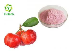 China Natural Fruit Acerola Extract VC Powder 17% 25% With Immune Enhancing HPLC Test on sale