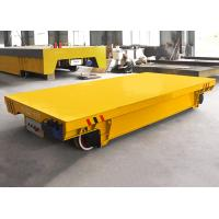 China 10T Metal Plant Use Electric Rail Transfer Wagon On Tracks on sale