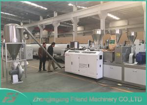 China High Precise Soft PVC Granulating Machine Convenient Installation / Operation on sale
